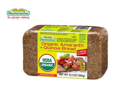 MESTEMACHER Organic Amaranth+Quinoa Bread 350g resmi