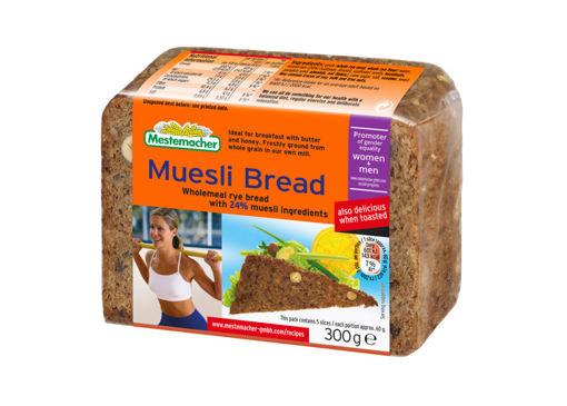 MESTEMACHER Organic Muesli Bread 300g resmi