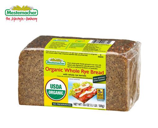 MESTEMACHER Organic Whole Rye Bread 500g resmi