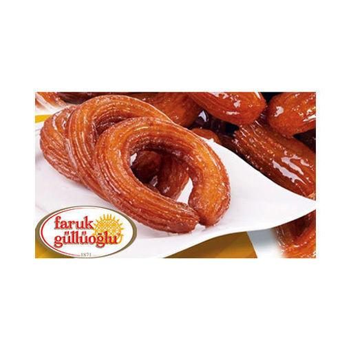 FARUK GULLUOGLU Authentic Turkish Ring Tulumba Dessert 2lb resmi
