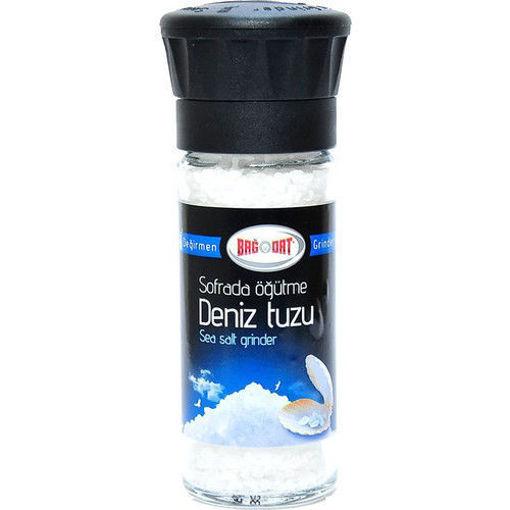 BAGDAT Sea Salt (Deniz Tuzu) 185g resmi
