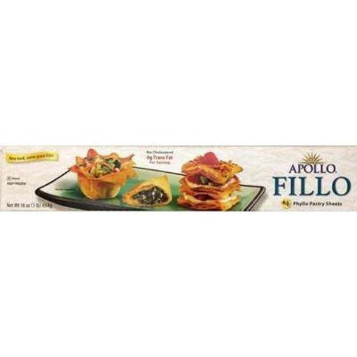 APOLLO #4 Fillo Dough (for Baklava) 454g resmi
