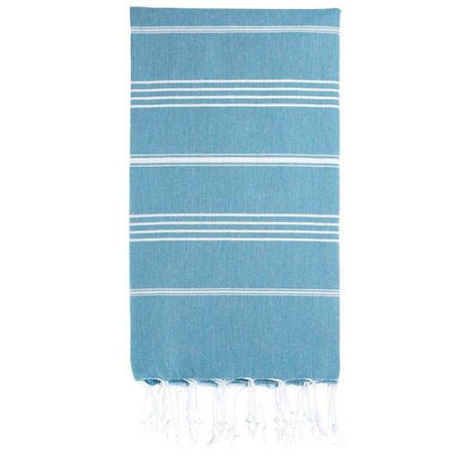 TOWEL CHIC %100 Cotton Beach & Bath Towel resmi