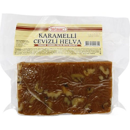 TATSAN Halva w/Caramel & Walnut 425g resmi