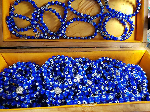 Evil Eye Bracelet with Premium Beads  (1 pc) resmi