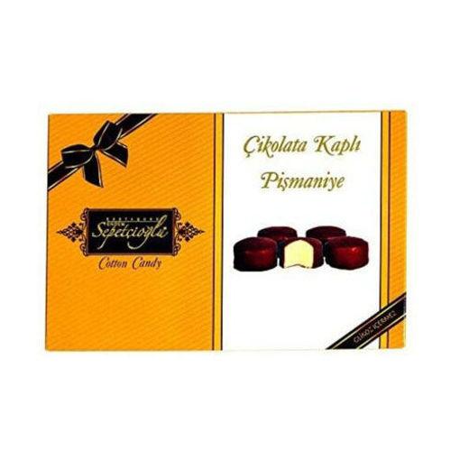 SEPETCIOGLU Chocolate Covered Floss Halva (Pismaniye) 280g resmi