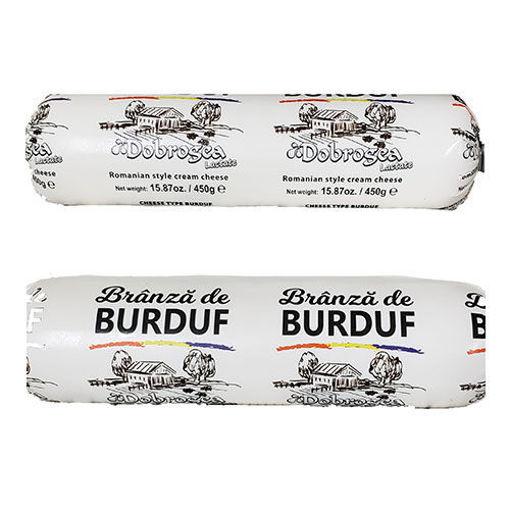 DOBROGEA Branza De Burduf Cow&Sheep Cheese 450g resmi