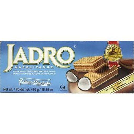 KAROLINA Jadro Coconut & Choco Wafers 430g resmi