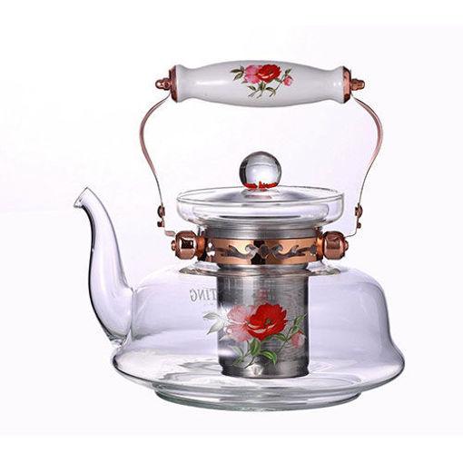 EUROPEWARE Glass Teapot 1.6 Liter resmi