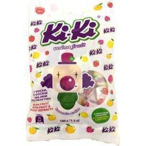 KRAS Candy KiKi Fruit Toffee 100g resmi