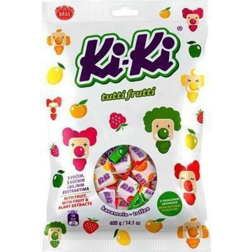 KRAS Candy KiKi Fruit Toffee 400g resmi