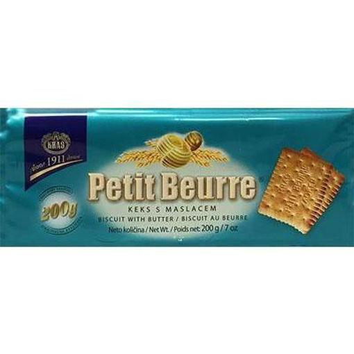 KRAS Cookies Petit Beurre Tea Biscuits 200g resmi