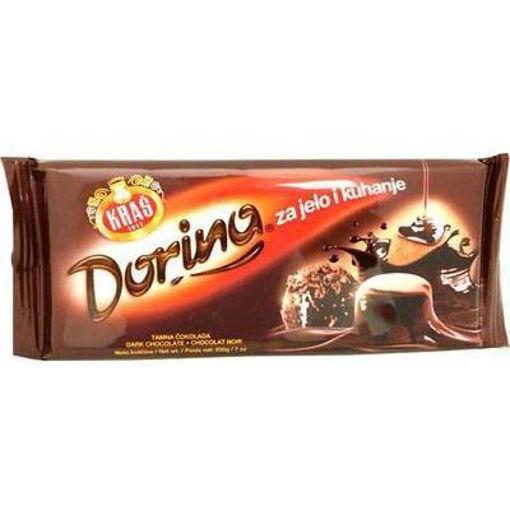 KRAS Dorina Dark Chocolate Bar 200g resmi