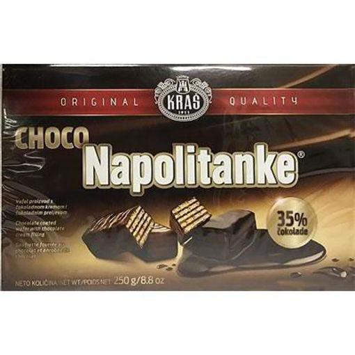 KRAS Wafers Napolitanke Choco Covered 250g resmi