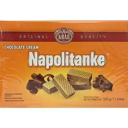 KRAS Wafers Napolitanke Chocolate Cream Filled 330g resmi