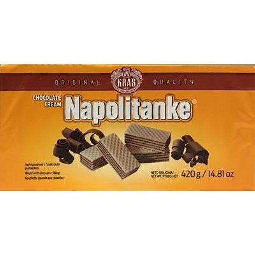 KRAS Wafers Napolitanke Chocolate Cream Filled 420g resmi