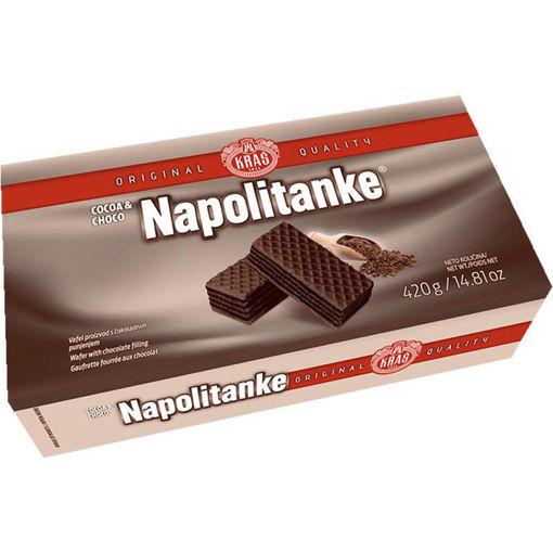 KRAS Wafers Napolitanke Cocoa & Choco Cream 420g resmi