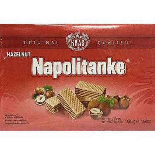 KRAS Wafers Napolitanke Hazelnut Filled 330g resmi