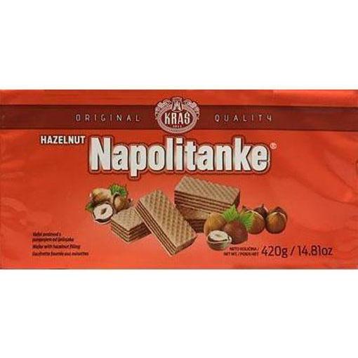 KRAS Wafers Napolitanke Hazelnut Filled 420g resmi