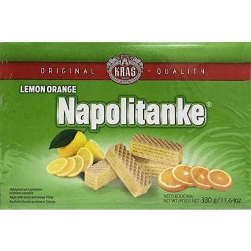 KRAS Wafers Napolitanke Lemon & Orange Filled 330g resmi