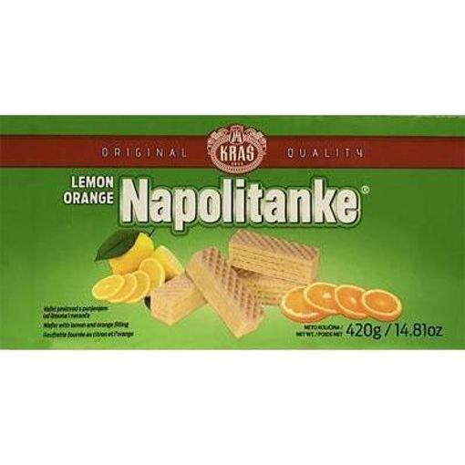 KRAS Wafers Napolitanke Lemon & Orange Filled 420g resmi
