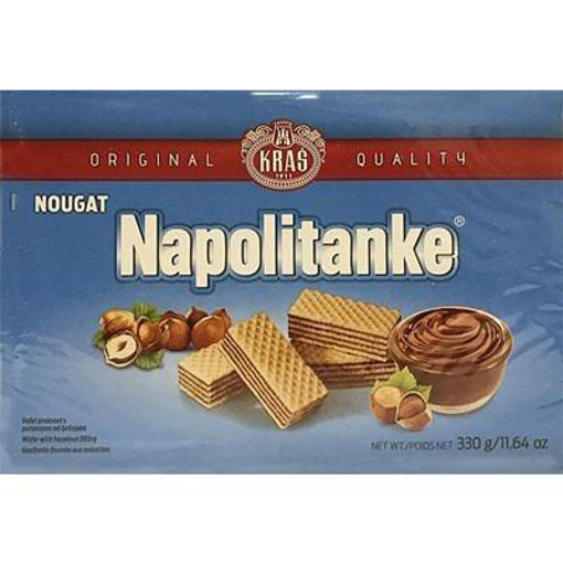 KRAS Wafers Napolitanke Nougat Filled 330g resmi