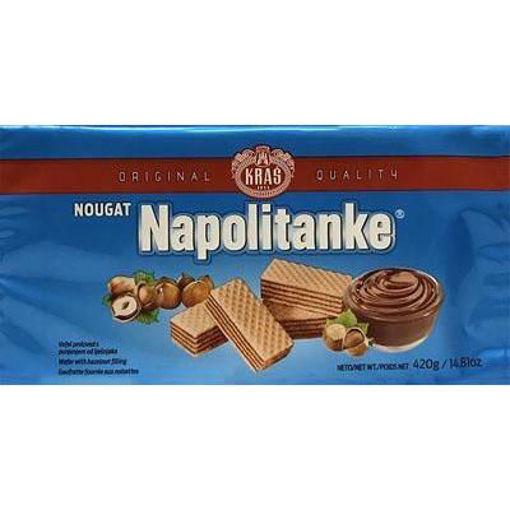 KRAS Wafers Napolitanke Nougat Filled 420g resmi