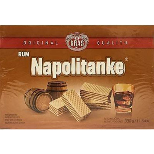 KRAS Wafers Napolitanke Rum Filled 330g resmi