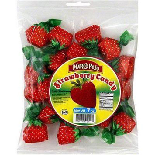 MARCO POLO Candy Strawberry 200g resmi