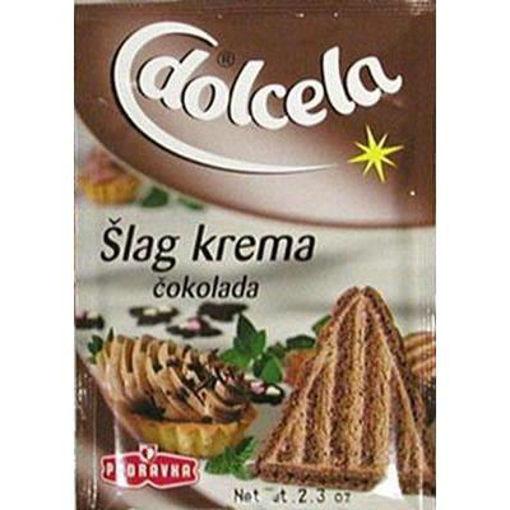 PODRAVKA Whipped Cream Chocolate (Slag Krema) 60g resmi