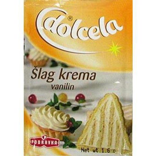 PODRAVKA Whipped Cream Vanilla (Slag Krema) 45g resmi