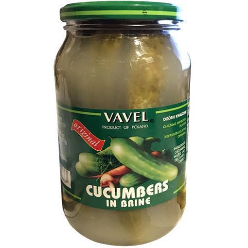 VAVEL Cucumbers in Brine 870g resmi