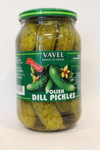 VAVEL Polish Dill Pickles 480g resmi