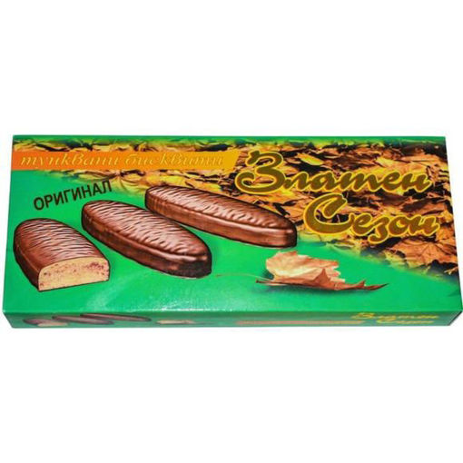 ZLATNA ESEN Chocolate Covered Biscuits 170g resmi