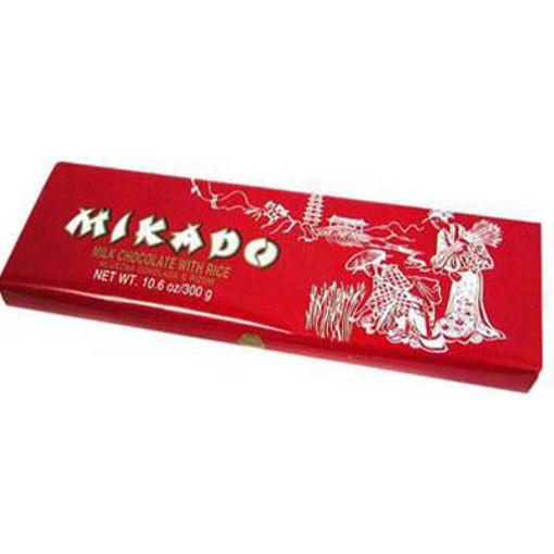 ZVECEVO Mikado Rice Chocolate 300g resmi