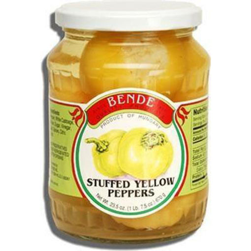 BENDE Stuffed Yellow Peppers 670g resmi