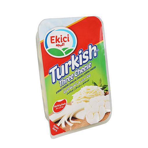 EKICI Turkish Three Cheese 200g resmi