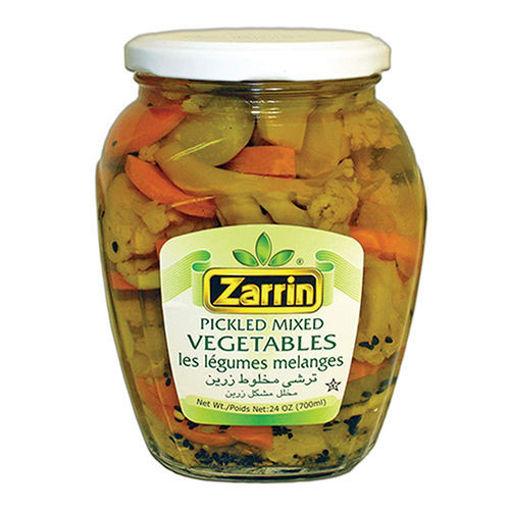 ZARRIN Pickled Mixed Vegetables 700g resmi
