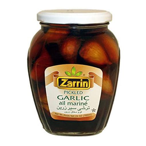 ZARRIN Pickled Garlic 700ml resmi