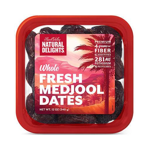 BARA VALLEY Whole Fresh Medjool Dates 340g resmi