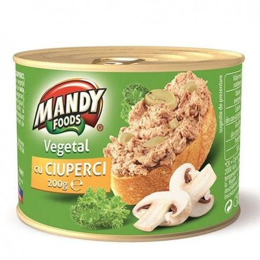 MANDY Vegetal cu Ciuperci 200g resmi