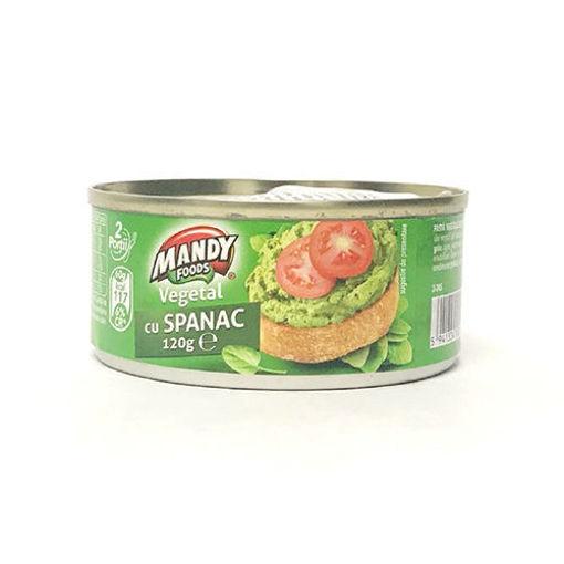 MANDY Vegetal cu Spanac 120g resmi