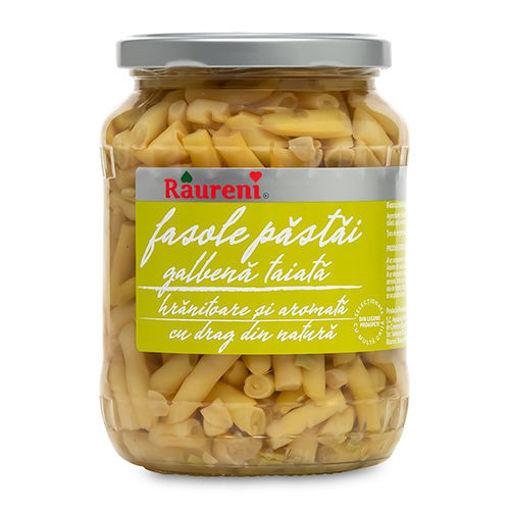 RAURENI Fasole Pastai (Yellow Beans in Brine) 690g resmi