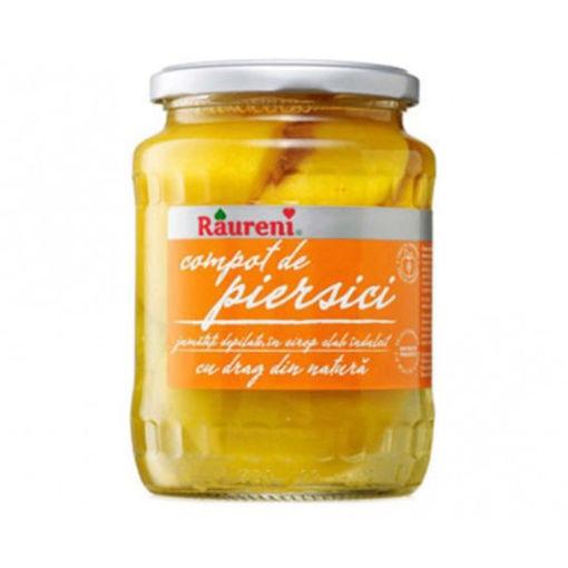 RAURENI Compot de Piersici (Peach Compote) 700g resmi