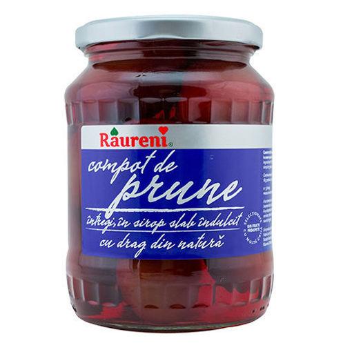 RAURENI Compot de Prune (Whole Plum in Syrup) 800g resmi